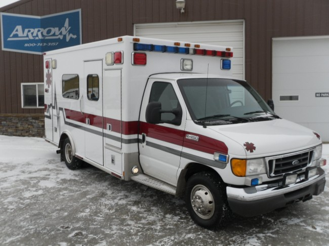 2006 Ford E450 Medtec Type 3 Ambulance For Sale