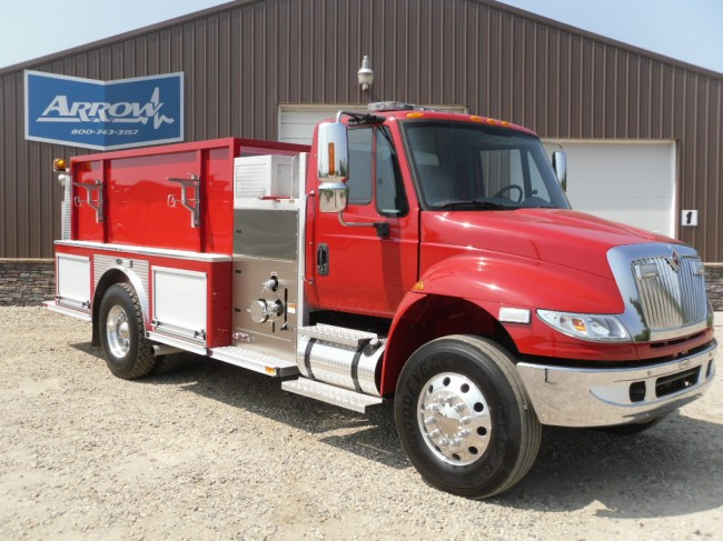 2005 International 4400 Tanker Fire-truck