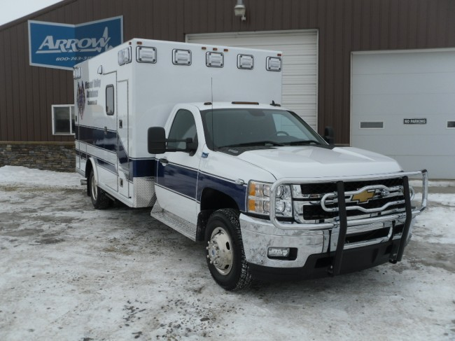 2014 Chevrolet K3500 Type 1 4x4 Ambulance
