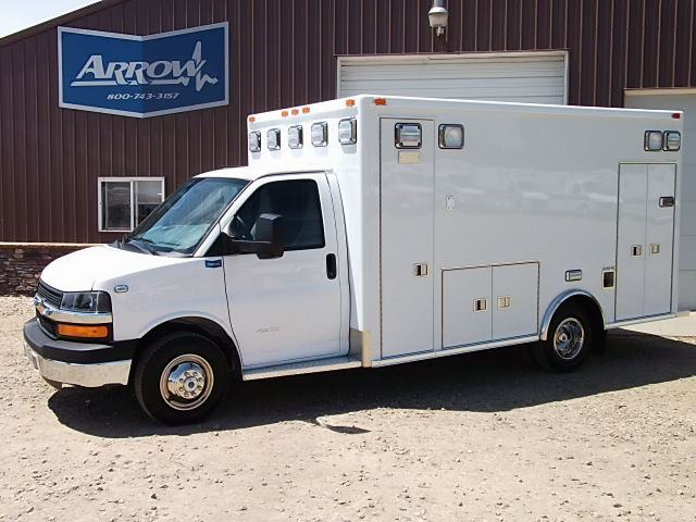 2014 Chevy G4500 Medtec Type 3 Ambulance For Sale