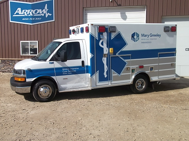 2013 Chevrolet G3500 Type 3 Ambulance