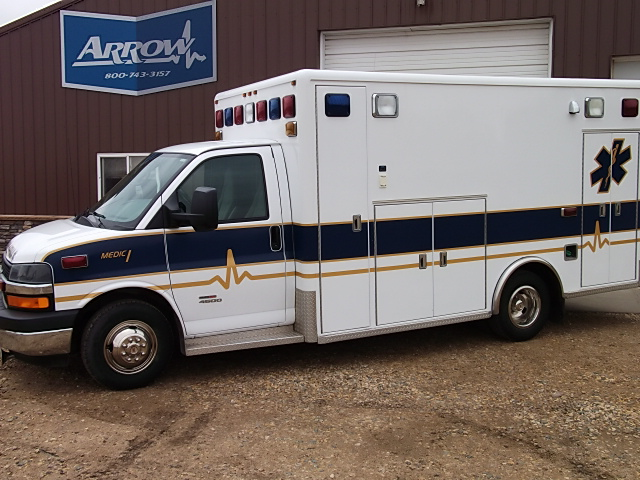 2009 Chevrolet G4500 Horton Type 3 Ambulance For Sale