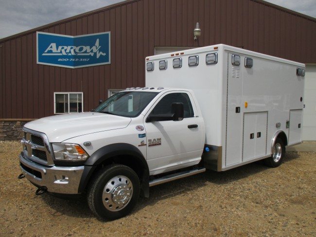 2014 Dodge Ram D4500 AEV Type 1 4x4 Ambulance For Sale