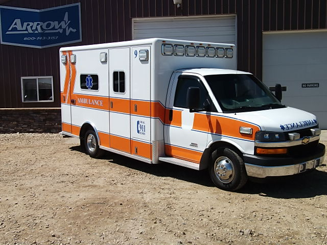 2009 Chevy G4500 Horton Type 3 Ambulance For Sale