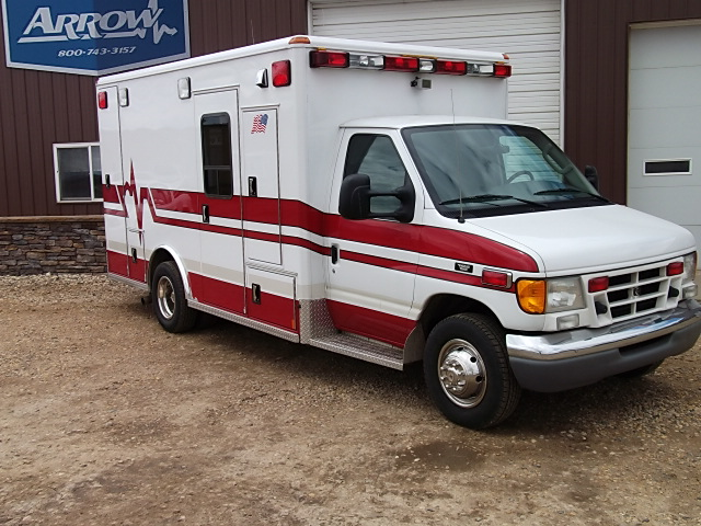 2003 Ford E450 Wheeled Coach Type 3 Ambulance For Sale