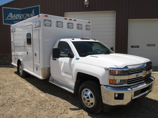 2015 Chevy K3500 Medtec Type 1 4x4 Ambulance For Sale