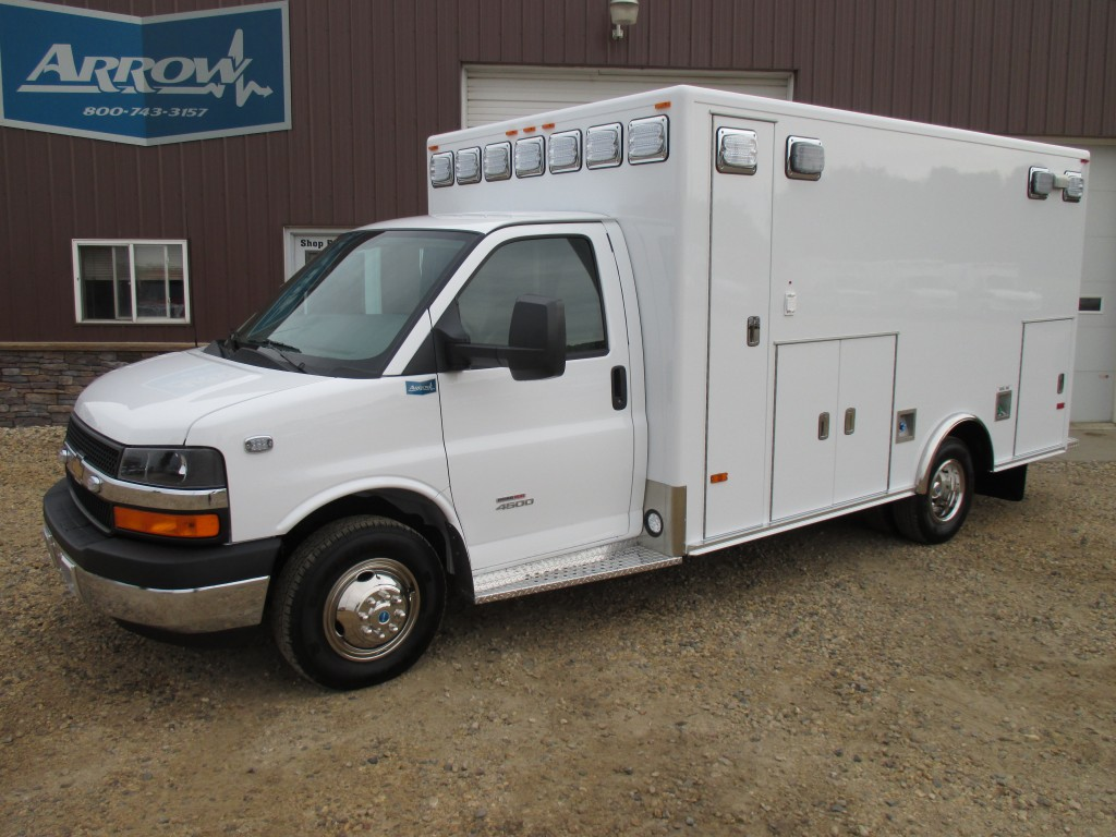 2014 Chevy G4500 PL Custom Type 3 Ambulance For Sale