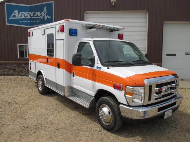 2014 Ford E350 Type 3 Ambulance