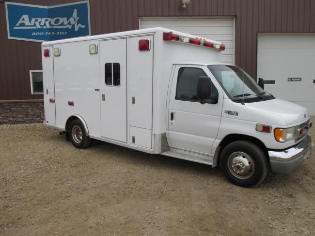 2002 Ford E450 Horton Type 3 Ambulance For Sale