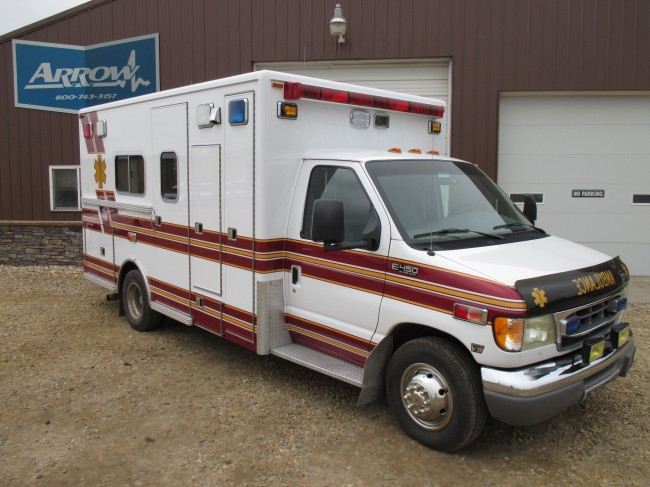 2000 Ford F450 Lifeline Type 3 Ambulance For Sale