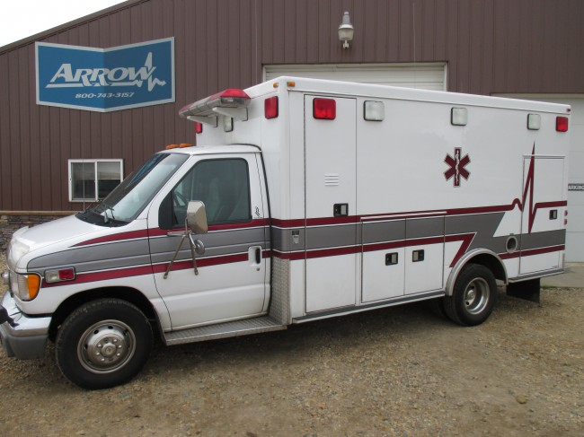 2000 Ford E450 Road Rescue Type 3 Ambulance For Sale