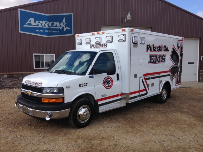 2012 Chevrolet G3500 Type 3 Ambulance