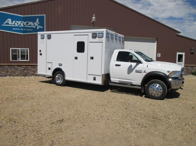 2015 Dodge D4500  Type 1 4x4 Ambulance For Sale