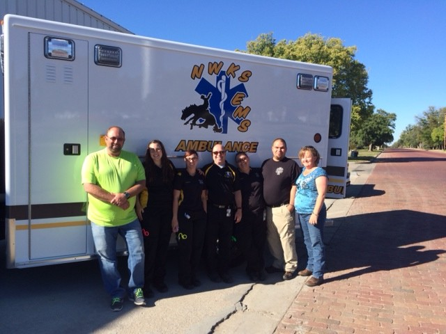 Ambulance delivered to Northwest Kansas Ambulance Service