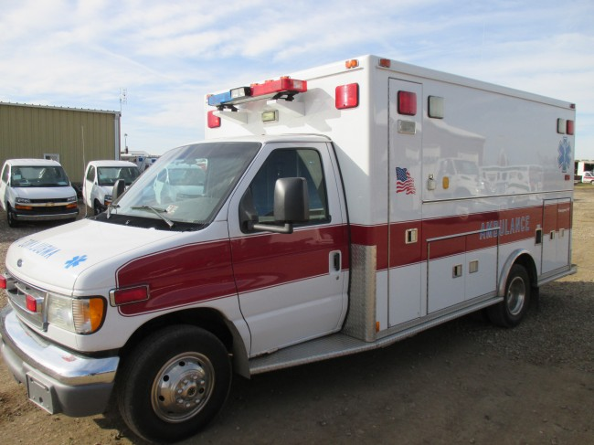 2002 Ford E450 Medtec Type 3 Ambulance For Sale