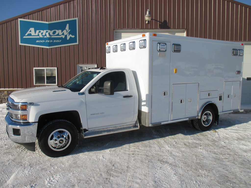 2015 Chevy K3500  Type 1 Ambulance For Sale