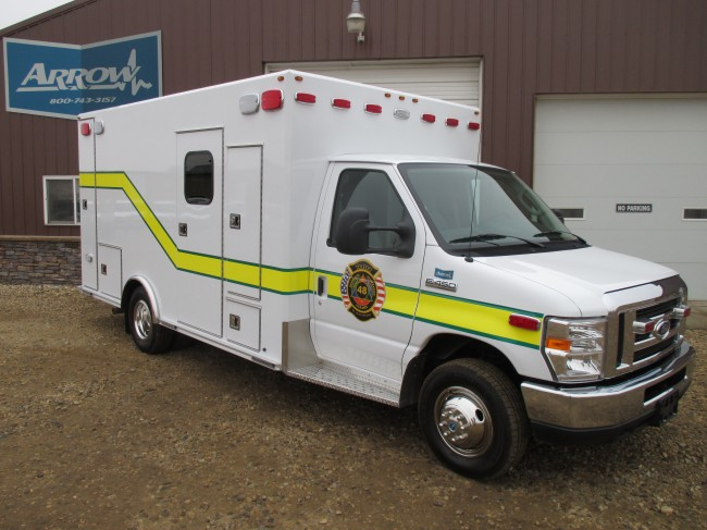 2014 Ford  E450 Type 3 Ambulance