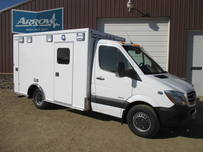 2015 Mercedes Sprinter  Type 3 Ambulance For Sale