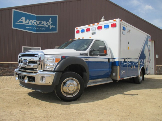 2012 Ford F450 Medtec Type 1 Ambulance For Sale