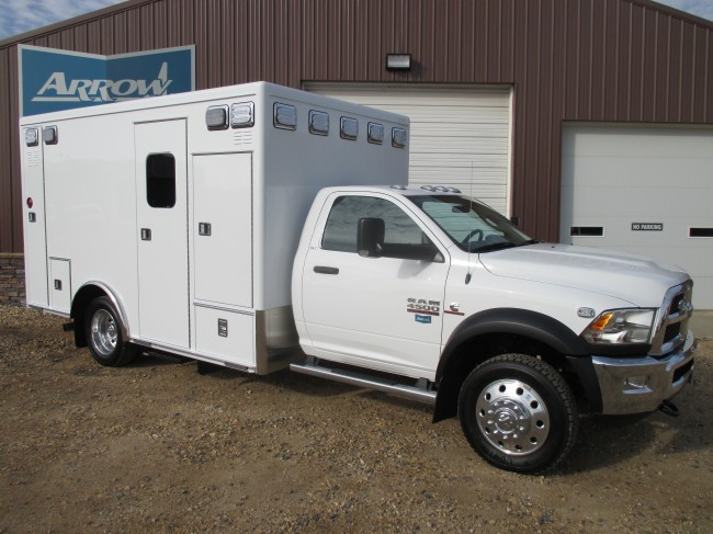 2015 Dodge D4500  Heavy Duty 4x4 Ambulance For Sale