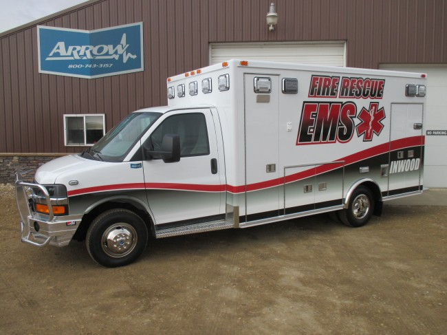 Ambulance delivered to Inwood Fire and Rescue