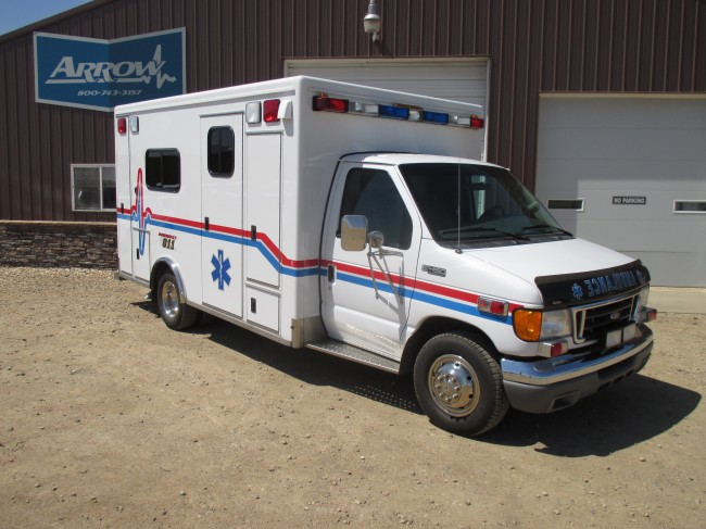 2004 E450 E450 McCoy Miller Type 3 Ambulance For Sale