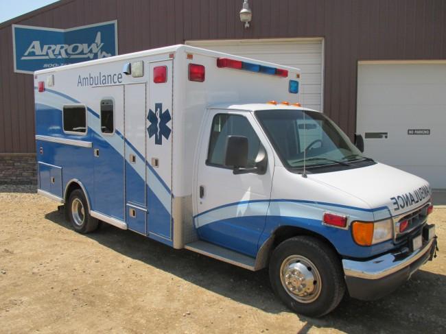 1999 Ford E450 Lifeline Type 3 Ambulance For Sale