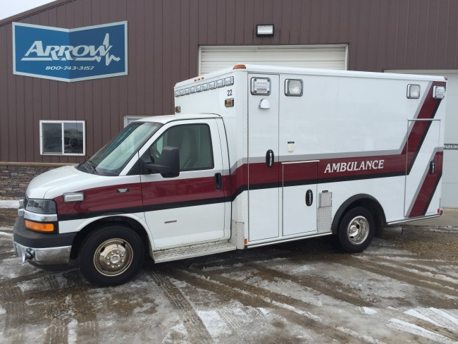 2010 Chevy G3500 Wheeled Coach Type 3 Ambulance For Sale