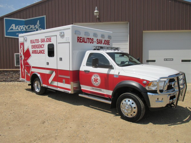 2015 Ram 4500 Heavy Duty 4x4 Ambulance