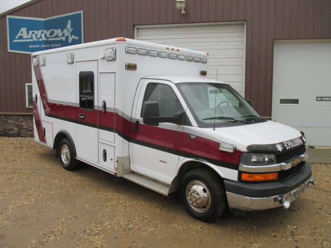 2009 Chevy G3500 Wheeled Coach Type 3 Ambulance For Sale