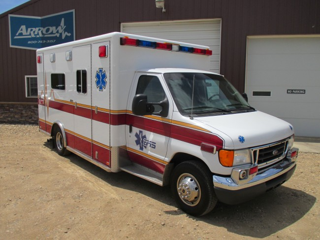 2005 Ford E450 Horton Type 3 Ambulance For Sale