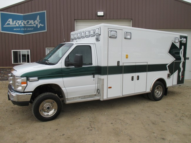 2011 Ford E450 PL Custom Type 3 4x4 Ambulance For Sale