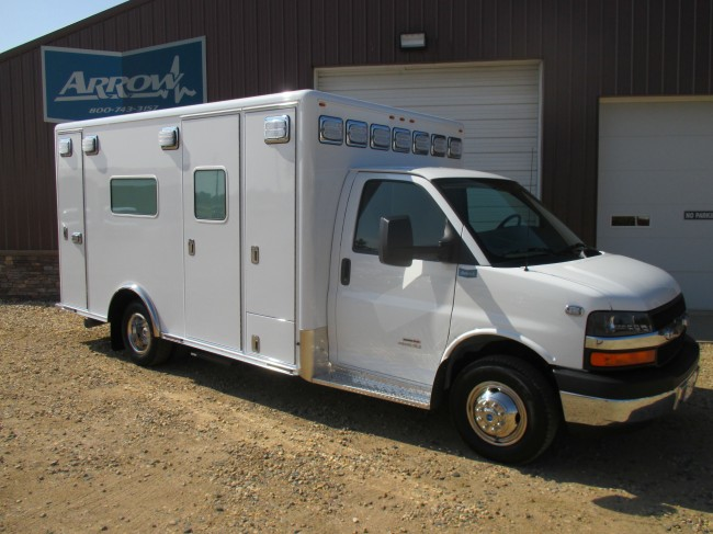 2015 Chevy G4500  Type 3 Ambulance For Sale