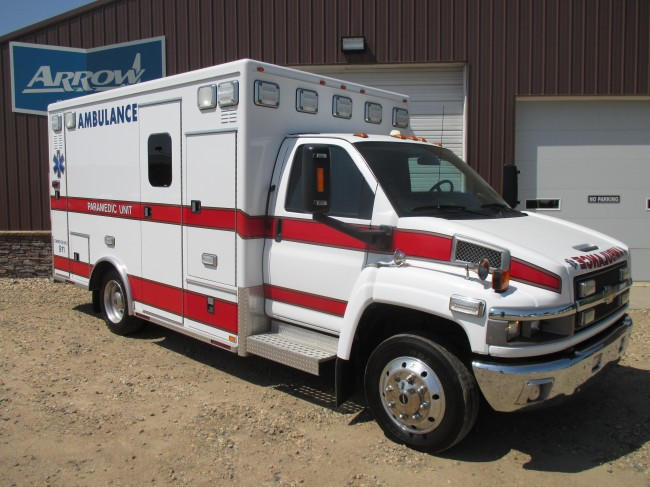 2008 Chevy C4500 AEV Type 3 Ambulance For Sale