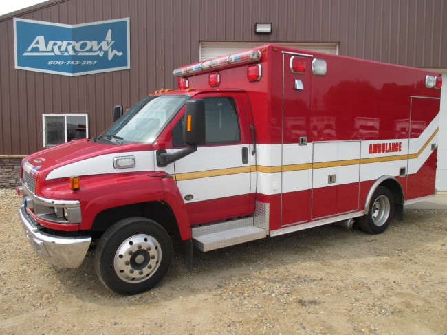 2006 Chevy C4500 Osage Type 3 Ambulance For Sale