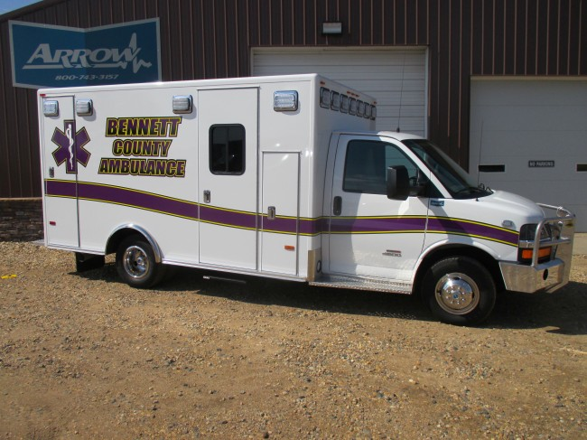 2014 Chevrolet G4500 Type 3 Ambulance