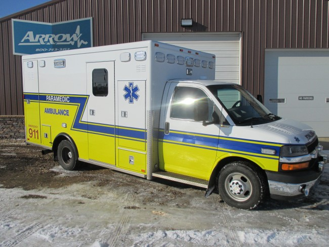 2010 Chevy G4500 AEV Type 3 Ambulance For Sale