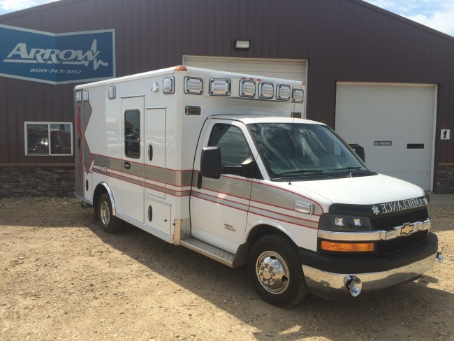 2013 Chevy G4500 Wheeled Coach Type 3 Ambulance For Sale