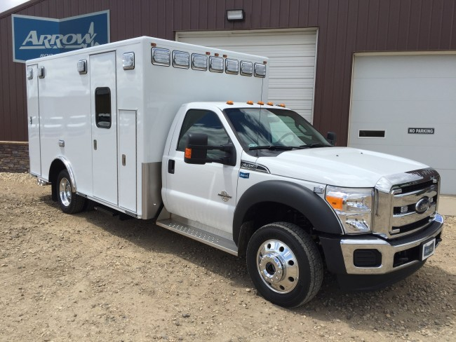 2016 Ford F450  Heavy Duty 4x4 Ambulance For Sale