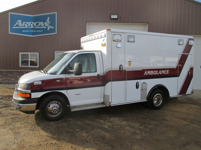 2010 Chevy G4500 Wheeled Coach Type 3 Ambulance For Sale