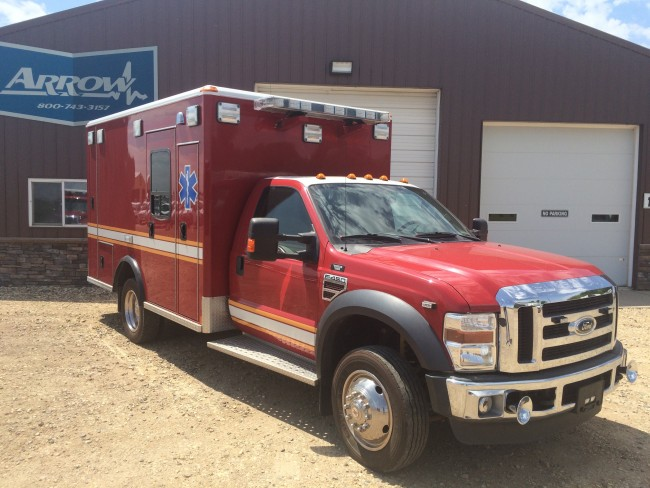 2008 Ford F450 Wheeled Coach Type 1 4x2 Ambulance For Sale