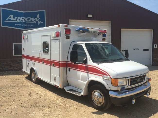 2007 Ford E450 Medtec Type 3 Ambulance For Sale