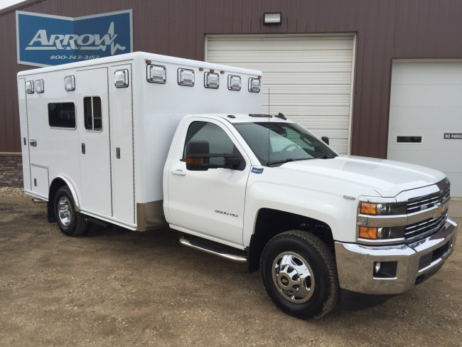 2016 Chevy K3500  Type 1 4x4 Ambulance For Sale