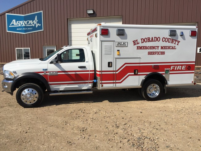 2015 Ford F450 Heavy Duty 4x4 Ambulance