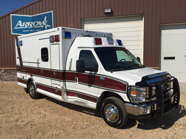 2012 Ford E450 Type 3 Ambulance