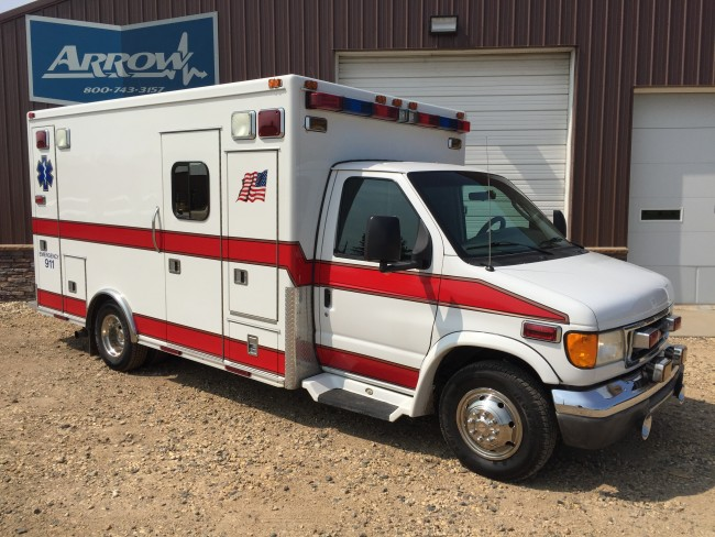 2003 Ford E450 Medtec Type 3 Ambulance For Sale