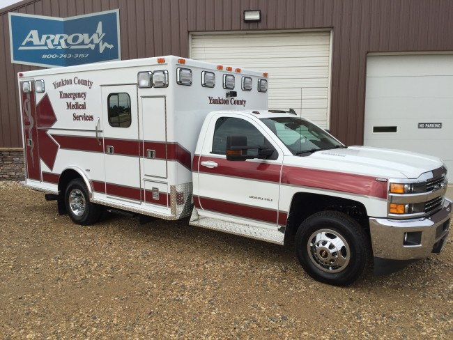 Ambulance delivered to Yankton County EMS