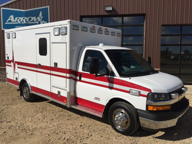 2013 Chevy G4500 AEV Type 3 Ambulance For Sale